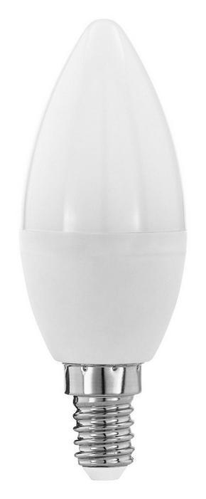 LED - vit, Basics, glas (10  cm) - Homeware
