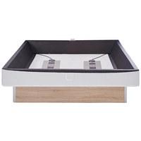 Wasserbett inkl. Montage 200/220 cm - Eichefarben, MODERN, Textil (200/220cm) - Novel
