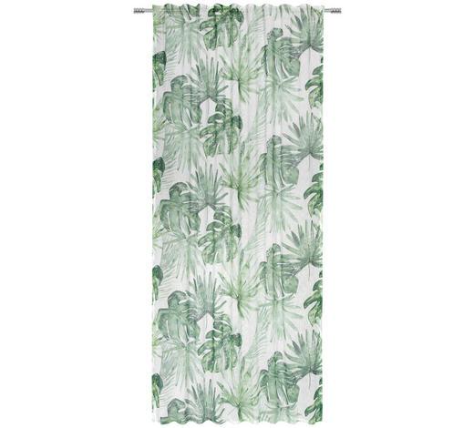 FERTIGVORHANG blickdicht - Grün, KONVENTIONELL, Textil (135/245cm) - Esposa