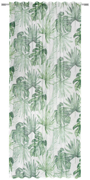 GARDINLÄNGD - grön, Klassisk, textil (135/245cm) - Esposa