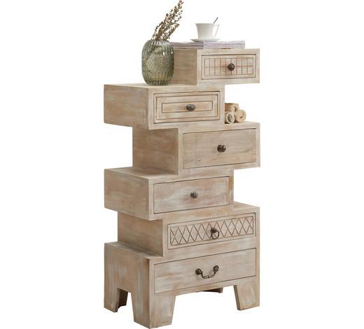 KOMMODE 58/118/40 cm - Bronzefarben/Naturfarben, Trend, Holz/Holzwerkstoff (58/118/40cm) - Ambia Home