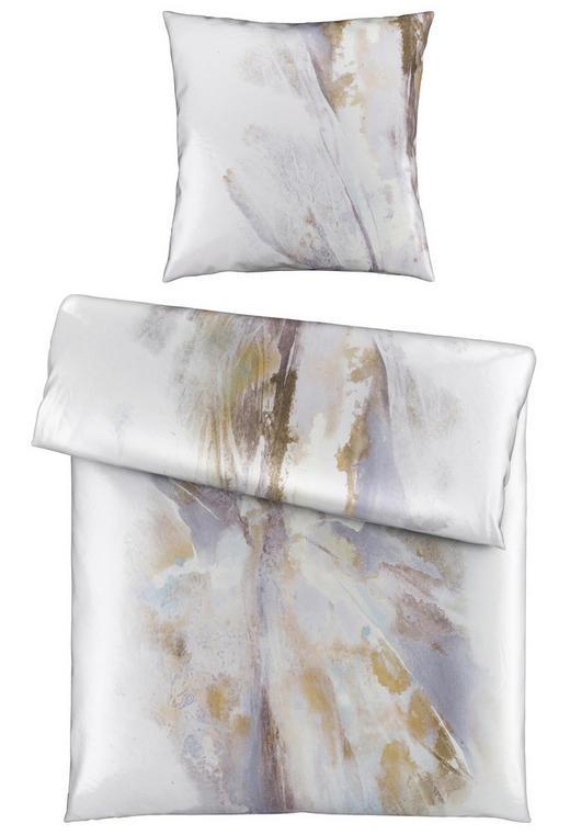 BETTWÄSCHE Satin Hellgrau 135/200 cm - Hellgrau, Design, Textil (135/200cm) - Novel