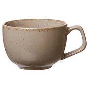 KAFFEETASSE 150 ml - Grau, Trend, Keramik (12/9/7cm) - Ritzenhoff Breker