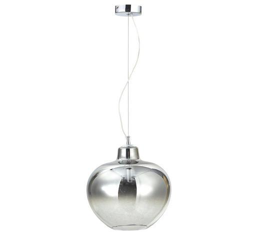 HÄNGELEUCHTE - Klar, Design, Glas/Metall (36,5/120cm) - Novel