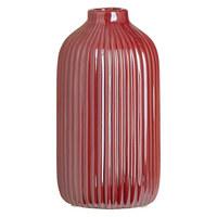 VÁZA - tmavě růžová, Design, keramika (8,6/16,5cm) - Ambia Home
