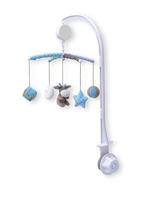 MOBILE - Blau, Basics, Kunststoff/Textil (34cm) - My Baby Lou