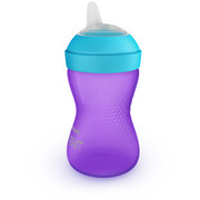 TRINKBECHER  - Violett, Basics, Kunststoff (10,6/20/7,5cm) - Avent
