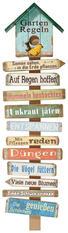 Textmotive HOLZBILD - Multicolor, Basics (28/96/6cm)