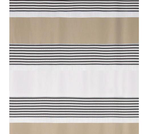 DEKOSTOFF per lfm halbtransparent - Beige/Silberfarben, Design, Textil (140cm) - Esposa