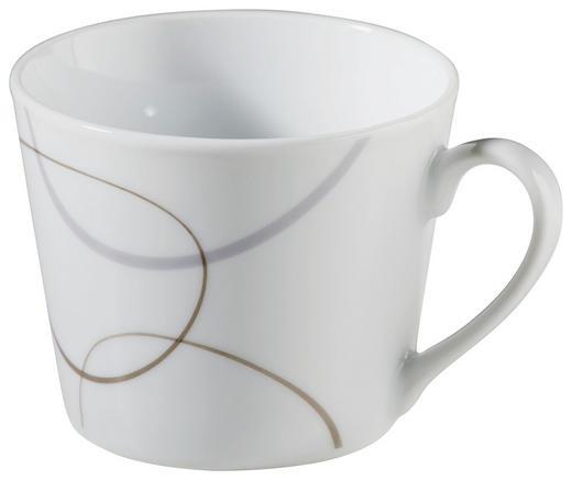 KAFFEETASSE - Braun/Weiß, Basics, Keramik (8/8/7cm) - Ritzenhoff Breker