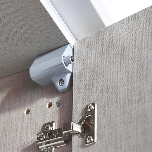 TÜRDÄMPFER 5-teilig Grau - Grau, Basics, Kunststoff - Carryhome