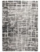 WEBTEPPICH - Silberfarben, Design, Textil (130/190cm) - Novel