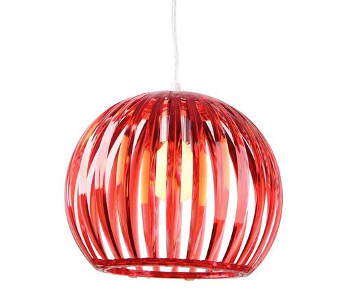 Hängeleuchte - Rot, LIFESTYLE, Kunststoff (31/25cm) - BOXXX