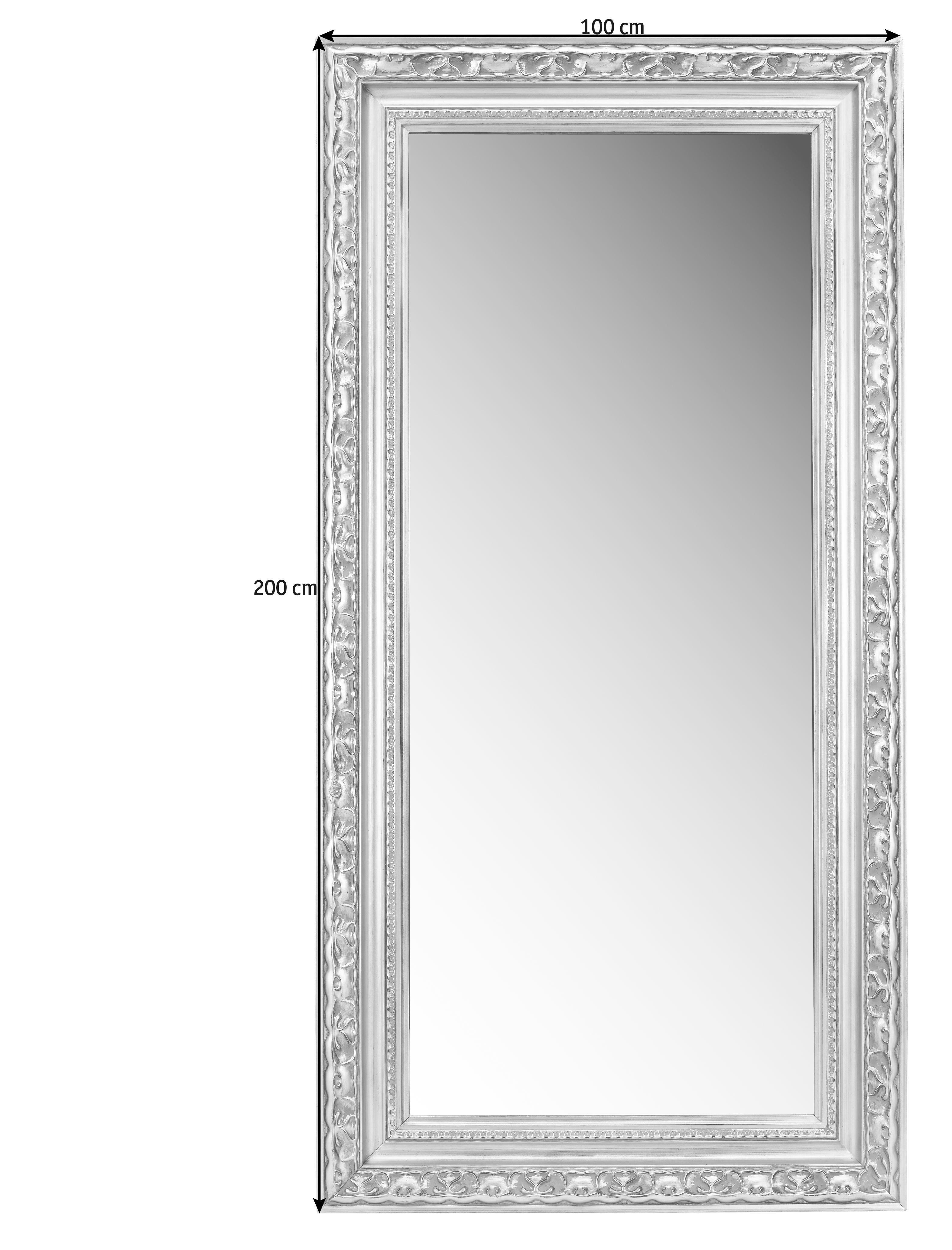 SPIEGEL - Silberfarben/Goldfarben, LIFESTYLE, Glas/Holz (100/200/7,6cm) - LANDSCAPE