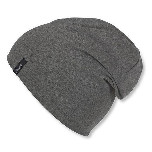 MÜTZE - Grau, Basics, Textil (49cm) - Sterntaler