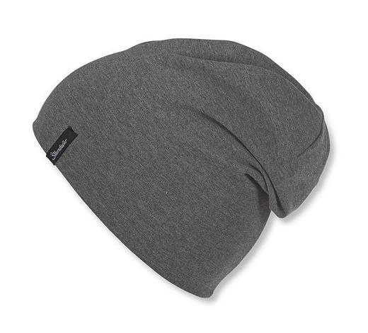 MÜTZE - Grau, Basics, Textil (45cm) - Sterntaler