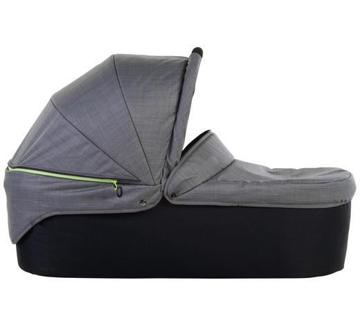 LIEGEWANNE - Grau, KONVENTIONELL, Textil (35/54/86cm) - TFK
