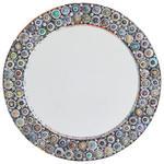 SPIEGEL Multicolor  - Multicolor, Trend, Glas/Papier (80/6cm) - Xora