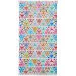 HAMAMTUCH 90/160 cm  - Pastellblau/Hellrosa, Design, Textil (90/160cm) - Esposa