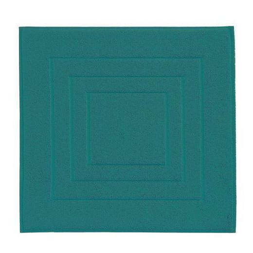 BADEMATTE  Grün  60/60 cm - Grün, Basics, Textil (60/60cm) - VOSSEN