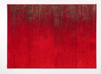 Webteppich Cheryl - Rot, Basics, Textil (100/160cm) - Ombra