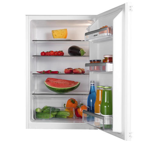 Kühlschrank 30630 - Weiß, Basics, Metall (56/87,3/55cm) - Mican
