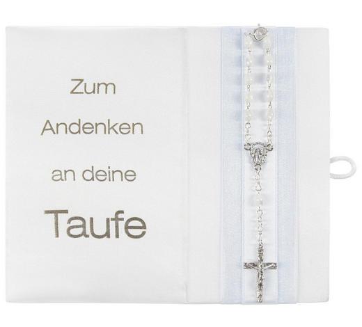 TAUFBRIEF - Blau/Weiß, Basics, Karton/Textil (16/13cm)