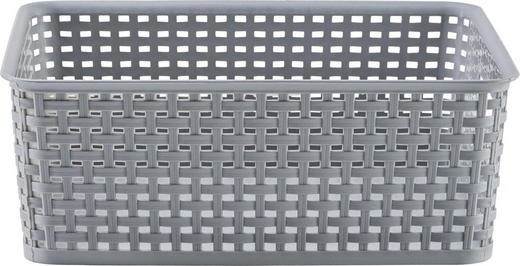 BOX - Grau, Basics, Kunststoff (10l) - Plast 1