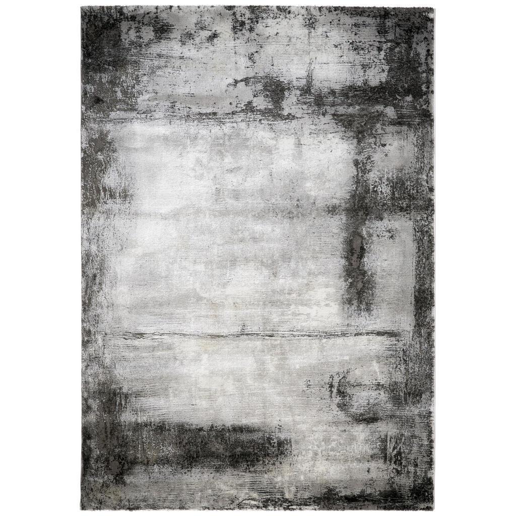Novel Webteppich 80/150 cm silberfarben
