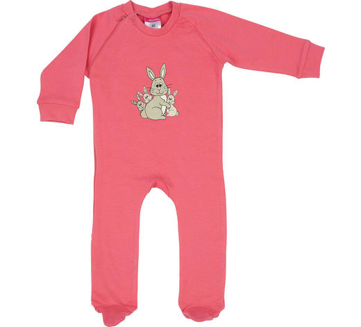8d2fbef435d1b7 SCHLAFANZUG - Rosa, Basics, Textil (80null) - My Baby Lou
