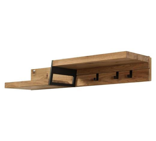 GARDEROBENPANEEL Eiche furniert, massiv Eichefarben  - Eichefarben, Design, Holz (96/16/33,2cm) - Voglauer