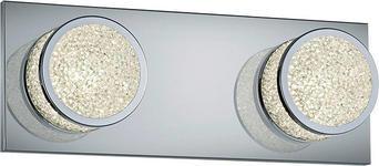 LED-WANDLEUCHTE - Design, Kunststoff/Metall (30/11/8,5cm) - Novel