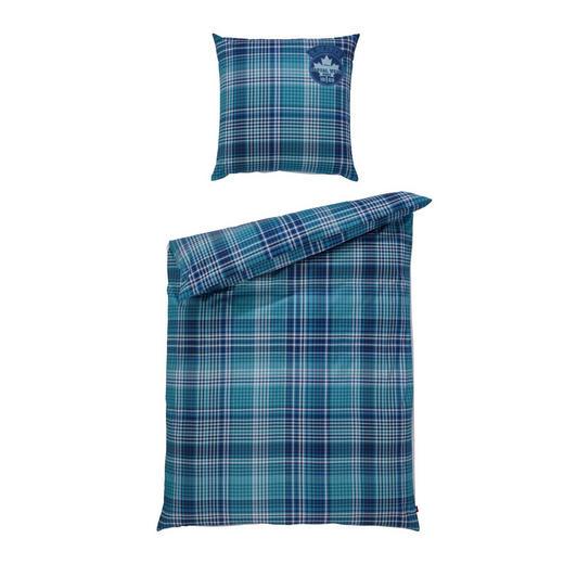 BETTWÄSCHE Satin Blau 135/200 cm - Blau, Design, Textil (135/200cm) - S. Oliver