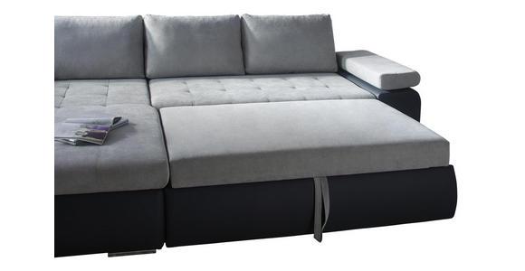 WOHNLANDSCHAFT in Textil Hellgrau, Dunkelgrau  - Dunkelgrau/Hellgrau, Design, Kunststoff/Textil (175/271cm) - Xora