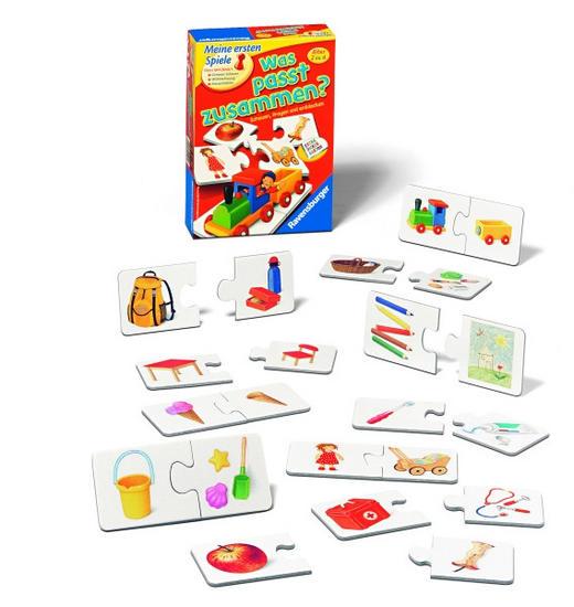 PUZZLE - Multicolor, Basics, Karton/Papier (23,1/16,7/5,5cm) - Ravensburger