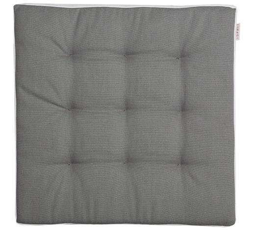 STUHLKISSEN Grau, Weiß 38/38 cm  - Weiß/Grau, Basics, Textil (38/38cm) - Esprit