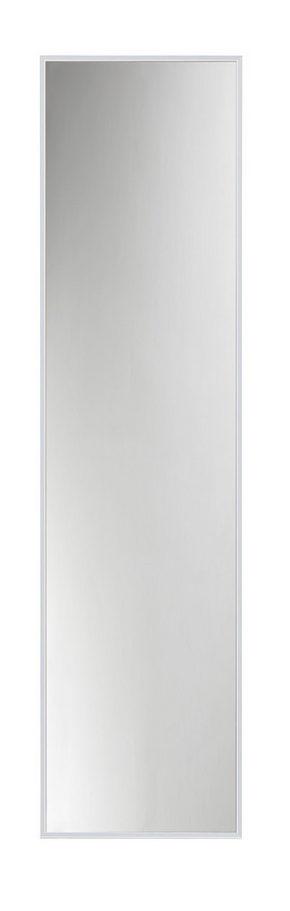 VÄGGSPEGEL - alufärgad/silver, Design, metall/glas (31/121cm)