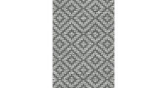 OUTDOORTEPPICH - Dunkelgrau/Grau, KONVENTIONELL, Textil (80/150cm) - Novel
