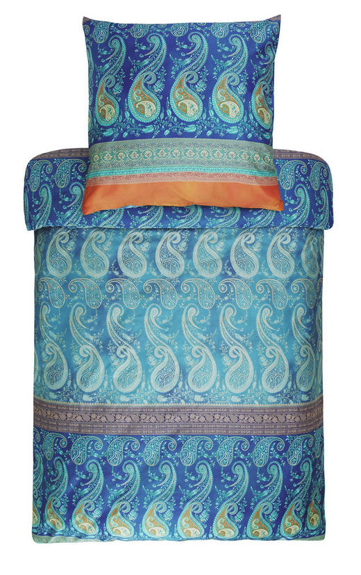 BETTWÄSCHE Blau - Blau, LIFESTYLE, Textil (155/220cm) - Bassetti