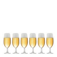 Bierglas-Set 6-teilig - Klar, Glas (0,35cm) - LEONARDO