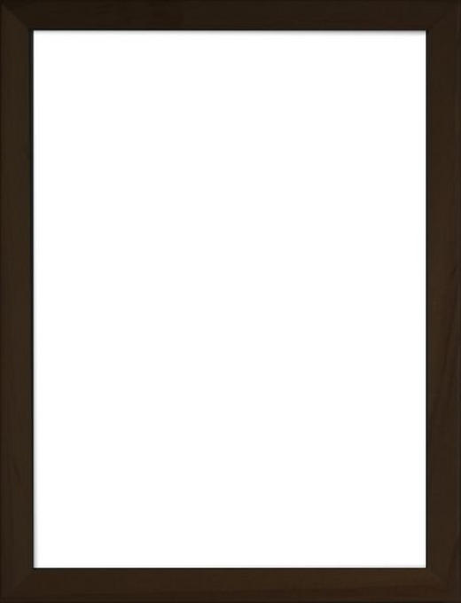 RÁM NA OBRAZY - černá, Basics, dřevo/sklo (83/63/3cm)