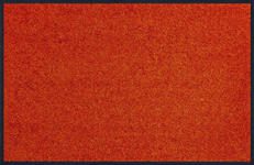 FUßMATTE 75/120 cm Uni Orange  - Orange, Basics, Kunststoff/Textil (75/120cm) - Esposa