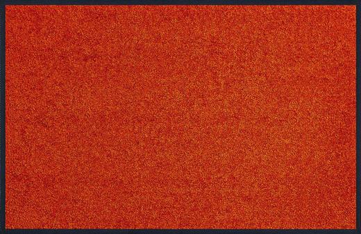 FUßMATTE 60/180 cm Uni Orange - Orange, Basics, Kunststoff/Textil (60/180cm) - Esposa