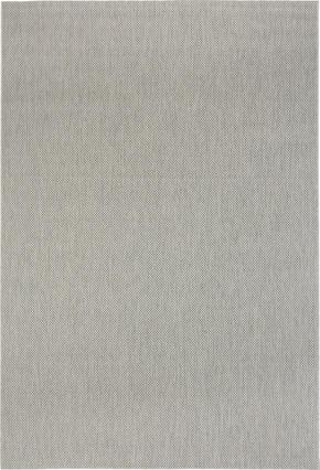 FLATVÄVD MATTA - grå, Klassisk, textil (60/110cm) - Boxxx