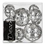 DEKOKUGELSET - Silberfarben, Basics, Metall (0,6l) - Ambia Home