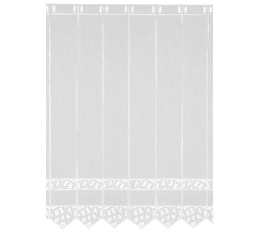 KURZGARDINE 90 cm - Weiß, LIFESTYLE, Textil (90cm) - Esposa