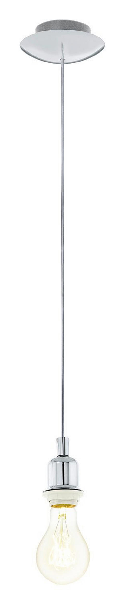 SCHNURPENDEL - Chromfarben, Basics, Metall (12/110cm) - Marama