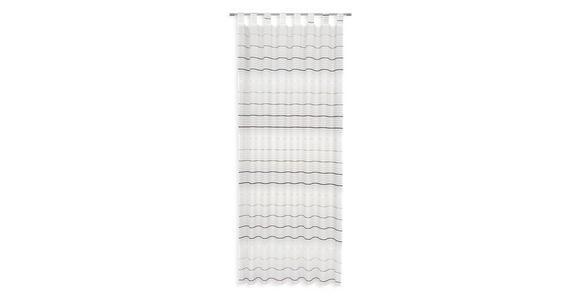 Kombivorhang Melisanda - Beige/Braun, MODERN, Textil (140/255cm) - Luca Bessoni
