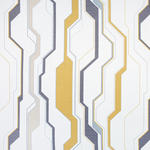 VORHANGSTOFF per lfm Verdunkelung - Dunkelgelb/Dunkelblau, Design, Textil (75/30/30cm) - Esposa