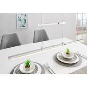 LED-HÄNGELEUCHTE - Chromfarben, Design, Metall (81,5/140,0/60,0cm)